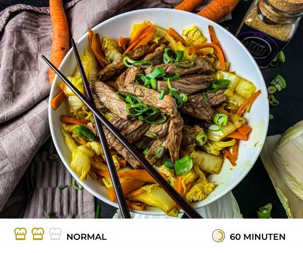 Chinakohlpfanne-mit-Steakstreifen