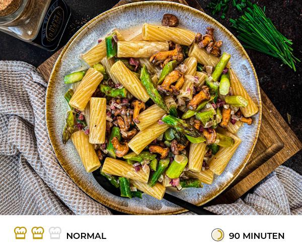 Pfifferling-Spargel-Pasta-Rezept-Der-kleine-Gourmet