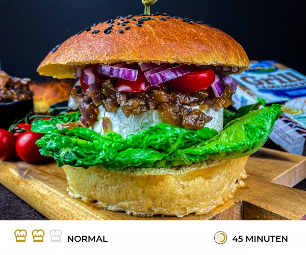 Veggie-Burger-Rezept