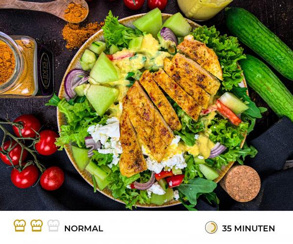 Salat_mit_Mangodressing_Rezept_der_kleine_gourmet