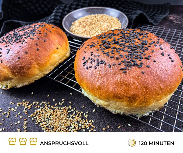 Burger-Buns-Rezept
