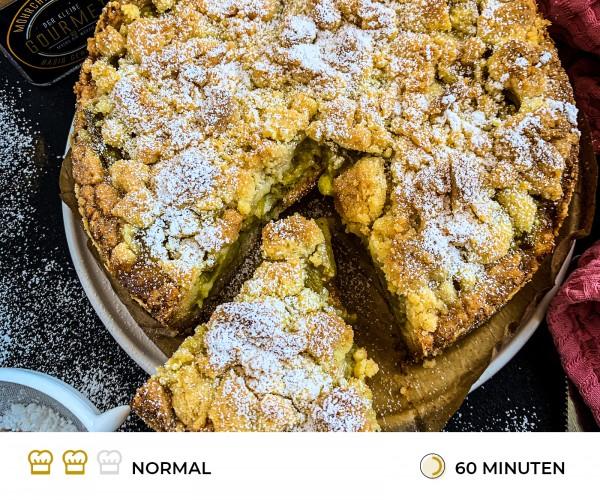 Rhabarberkuchen-mit-Streuseln-Rezept