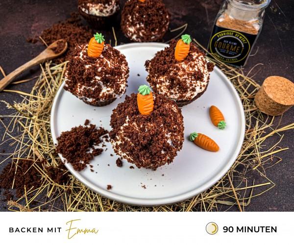 Maulwurf-Muffins-Rezept