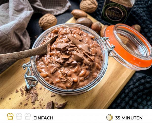 Schokomilchreis-Rezept