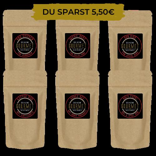 Testpaket - BBQ Rubs