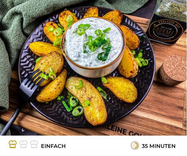 Ofenkartoffeln-mit-Fr-hlingsquark-Rezept