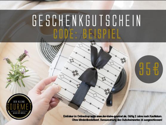 35€ Geschenkgutschein